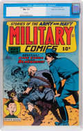 Golden Age (1938-1955):War, Military Comics #19 Mile High Pedigree (Quality, 1943) CGC NM+ 9.6 White pages....