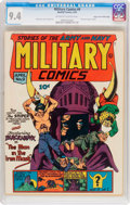 Golden Age (1938-1955):War, Military Comics #9 Mile High Pedigree (Quality, 1942) CGC NM 9.4Off-white to white pages....