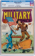 Golden Age (1938-1955):War, Military Comics #11 Mile High Pedigree (Quality, 1942) CGC NM+ 9.6 Off-white pages....
