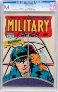 Golden Age (1938-1955):War, Military Comics #32 Mile High Pedigree (Quality, 1944) CGC NM 9.4 Off-white to white pages....