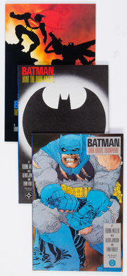 Batman: The Dark Knight Returns #1-4 Group (DC, 1986) Condition: Average VF/NM.... (Total: 4 Comic Books)