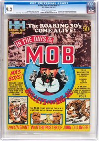 In the Days of the Mob #1 (DC, 1971) CGC NM- 9.2 Cream to off-white pages