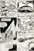 Original Comic Art:Panel Pages, Carmine Infantino and Frank Giacoia Star Wars #45 Page 23Original Art (Marvel, 1981)....