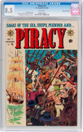 Golden Age (1938-1955):Adventure, Piracy #1 Gaines File Pedigree 11/12 (EC, 1954) CGC VF+ 8.5 Whitepages....