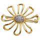 Diamond, Platinum, Gold Brooch, Paloma Picasso for Tiffany & Co