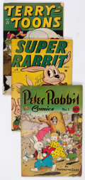 Golden Age (1938-1955):Funny Animal, Comic Books - Assorted Golden Age Funny Animal Comics Group of 36 (Various Publishers, 1943-51) Condition: Average GD/VG....