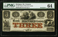 Obsoletes By State:Michigan, Mt. Clemens, MI- Bank of Macomb County $3 Apr. 1, 1858 Remainder. ...