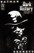Original Comic Art:Covers, Tim Sale Batman: Dark Victory #2 Original Cover Art (DC, 2000)....