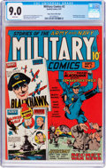 Golden Age (1938-1955):War, Military Comics #2 Mile High Pedigree (Quality, 1941) CGC VF/NM 9.0White pages....