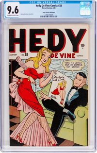 Hedy Devine Comics #28 Mile High Pedigree (Atlas, 1948) CGC NM+ 9.6 Off-white to white pages