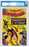 Silver Age (1956-1969):Superhero, The Amazing Spider-Man #12 (Marvel, 1964) CGC NM 9.4 Off-white towhite pages....