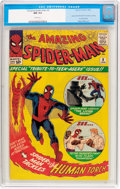 Silver Age (1956-1969):Superhero, The Amazing Spider-Man #8 (Marvel, 1964) CGC NM 9.4 White pages....