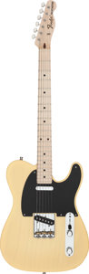Musical Instruments:Electric Guitars, 2008 Fender Telecaster Pro Closet Classic Blonde Solid BodyElectric Guitar, Serial # 4094....