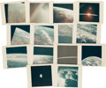 "Explorers:Space Exploration, Apollo 17: Collection of Fourteen Original NASA ""Red Number"" Color Photos...."