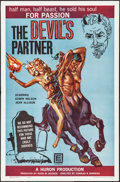 "Movie Posters:Horror, The Devil's Partner & Other Lot (Filmgroup, 1961). One Sheets(2) (27"" X 41""). Horror.. ... (Total: 2 Items)"