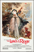 """Movie Posters:Animation, The Lord of the Rings (United Artists, 1978). One Sheet (27"""" X 41"""") Tom Jung Artwork Style A. Animation.. ..."""