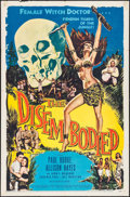 "Movie Posters:Horror, The Disembodied (Allied Artists, 1957). One Sheet (27"" X 41"").Horror.. ..."