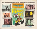 "Movie Posters:Horror, The Hypnotic Eye (Allied Artists, 1960). Half Sheet (22"" X 28"")Style A. Horror.. ..."