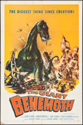 Movie Posters:Science Fiction, The Giant Behemoth (Allied Artists, 1959). One She...