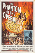 "Movie Posters:Horror, The Phantom of the Opera (Universal International, 1962). One Sheet(27"" X 41"") Reynold Brown Artwork. Horror.. ..."