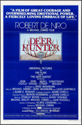 "Movie Posters:Academy Award Winners, The Deer Hunter (Universal, 1978). One Sheets (2) (27"" X 41"")Regular and Academy Awards Styles, Mantel & JezierskiArtwork.... (Total: 2 Items)"