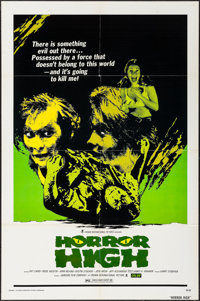 """Horror High & Other Lot (Crown International, 1974). Folded, Very Fine. One Sheets (2) (27"""" X 41""""). Ho..."""