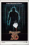 "Movie Posters:Horror, Friday the 13th Part 3 & Other Lot(Paramount, 1982). One Sheets(2) (27"" X 41"") 3-D Style. Horror.. ... (Total: 2 Items)"