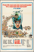 """Movie Posters:Comedy, It's a Mad, Mad, Mad, Mad World (United Artists, R-1970). One Sheet (27"""" X 41"""") Jack Davis Artwork. Comedy.. ..."""