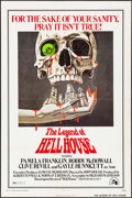 "Movie Posters:Horror, The Legend of Hell House (20th Century Fox, 1973). One Sheet (27"" X41"") Robert Tanenbaum Artwork. Horror.. ..."