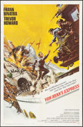 "Movie Posters:War, Von Ryan's Express (20th Century Fox, 1965). One Sheet (27"" X 41"")Frank McCarthy Artwork. War.. ..."