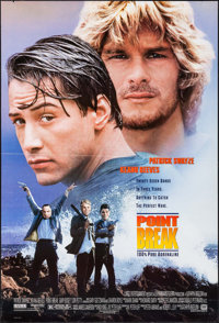"Point Break & Other Lot (20th Century Fox, 1991). One Sheets (2) (27"" X 40"") DS. Action. ... (Total: 2 Ite..."
