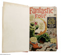 Silver Age (1956-1969):Superhero, Fantastic Four, Bound Volume of #1 - 24 (Marvel, 1961). Thisremarkable bound volume not only contains an impressive run of ...