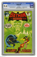 Bronze Age (1970-1979):Superhero, Batman #232 (DC, 1971) CGC NM 9.4 White pages. A big Bronze Ageturning point for the Dark Knight Detective came with this m...