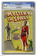 Silver Age (1956-1969):Science Fiction, Mystery in Space #79 (DC, 1962) CGC NM 9.4 Off-white to whitepages. Adam Strange stars in this issue, with Carmine Infantin...