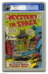 Mystery in Space #102 Pacific Coast pedigree (DC, 1965) CGC NM/MT 9.8 White pages. A world of robots populates this Adam...