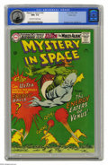 Silver Age (1956-1969):Science Fiction, Mystery in Space #105 Pacific Coast pedigree (DC, 1966) CGC NM+ 9.6Off-white to white pages. Murphy Anderson cover and Lee ...