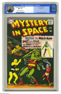 Silver Age (1956-1969):Science Fiction, Mystery in Space #107 Pacific Coast pedigree (DC, 1966) CGC NM+ 9.6Off-white to white pages. Murphy Anderson cover. Lee Eli...
