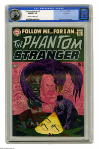 The Phantom Stranger #2 Pacific Coast pedigree (DC, 1969) CGC NM/MT 9.8 Off-white to white pages. This second issue of D...