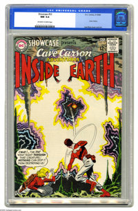 Showcase #52 Cave Carson (DC, 1964) CGC NM 9.4 Off-white to white pages. Lee Elias cover and art. Overstreet 2005 NM- 9...