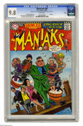 Silver Age (1956-1969):Miscellaneous, Showcase #68 Maniaks - Ohio pedigree (DC, 1967) CGC NM/MT 9.8 White pages. We're pleased to offer the best known copy of thi...