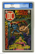 Silver Age (1956-1969):Adventure, Showcase #83 Nightmaster - Pacific Coast pedigree (DC, 1969) CGC NM+ 9.6 Off-white pages. Joe Kubert cover. Bernie Wrightson...