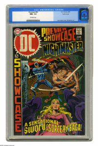 Showcase #83 Nightmaster - Pacific Coast pedigree (DC, 1969) CGC NM+ 9.6 Off-white pages. Joe Kubert cover. Bernie Wrigh...