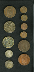 Luxembourg, Luxembourg: An 11-piece pre-1800 lot including:... (Total: 11coins)