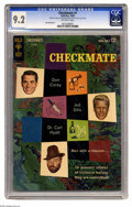 """Silver Age (1956-1969):Mystery, Checkmate #1 (Gold Key, 1962) CGC NM- 9.2 Off-white pages. JackSparling art. CGC notes, """"From the Dallas Stephens collectio..."""