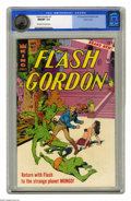 Silver Age (1956-1969):Science Fiction, Flash Gordon #1 Pacific Coast pedigree (King Features Syndicate,1966) CGC NM/MT 9.8 Off-white to white pages. This debut is...