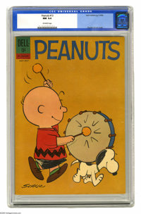 Peanuts #13 (Dell, 1962) CGC NM 9.4 Off-white pages. Charles Schulz cover. Overstreet 2005 NM- 9.2 value = $115. CGC cen...