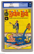 Silver Age (1956-1969):Humor, Richie Rich #1 File Copy (Harvey, 1960) CGC NM- 9.2 Cream to off-white pages. Harvey had quite a lineup of funny books in th...