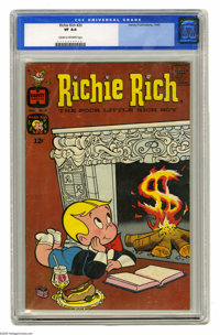 Richie Rich #20 (Harvey, 1963) CGC VF 8.0 Cream to off-white pages. Overstreet 2005 VF 8.0 value = $102. CGC census 6/05...
