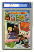Bronze Age (1970-1979):Cartoon Character, Richie Rich Gems #1 (Harvey, 1974) CGC NM+ 9.6 White pages. This is the highest grade given this issue by the CGC to date. O...