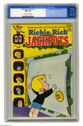 Bronze Age (1970-1979):Humor, Richie Rich Jackpots #1 (Harvey, 1972) CGC NM+ 9.6 Off-white to white pages. Overstreet 2005 NM- 9.2 value = $60. CGC census...